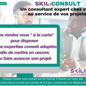 skilconsult de skilcampusaccompagnement conseil en organisation et QSE personnalisé sur le site du client et à la demande