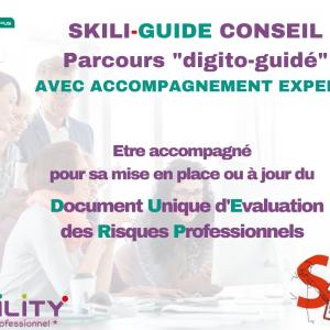 skilcampus skiliguide document unique d'évaluation des risques professionnels avec accompagnement