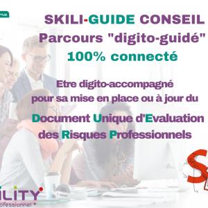 skilcampus skiliguide d'accompagnement conseil document unique d'évaluation des risques professionnels 100% à distance